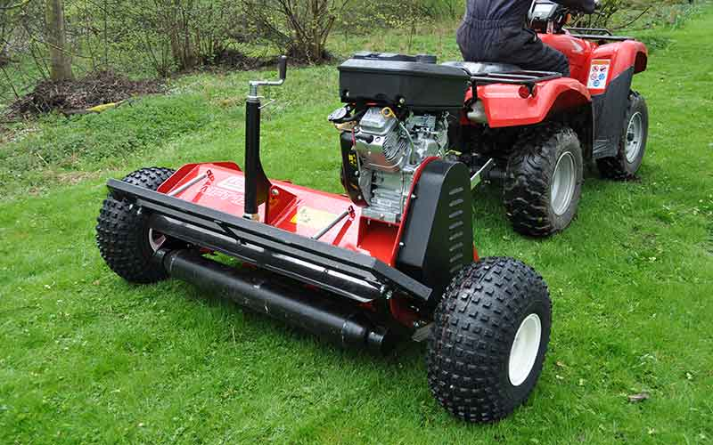 UTV ATV Scrub Buster MFT Flail Mower (Groundcare) 04
