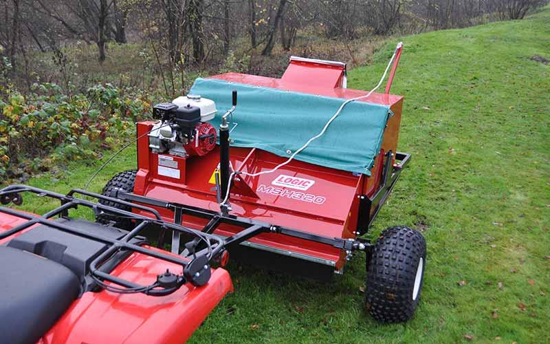 UTV ATV Seed Harvester MSH320 03