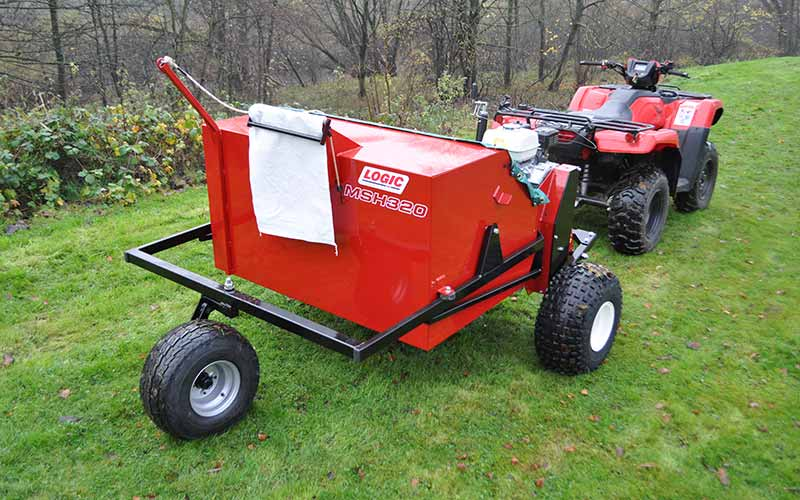 UTV ATV Seed Harvester MSH320 05