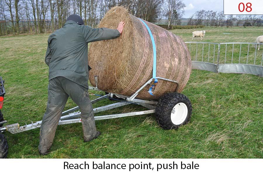 Round Bale 4X4 UTV ATV Trailer LBT how to 08