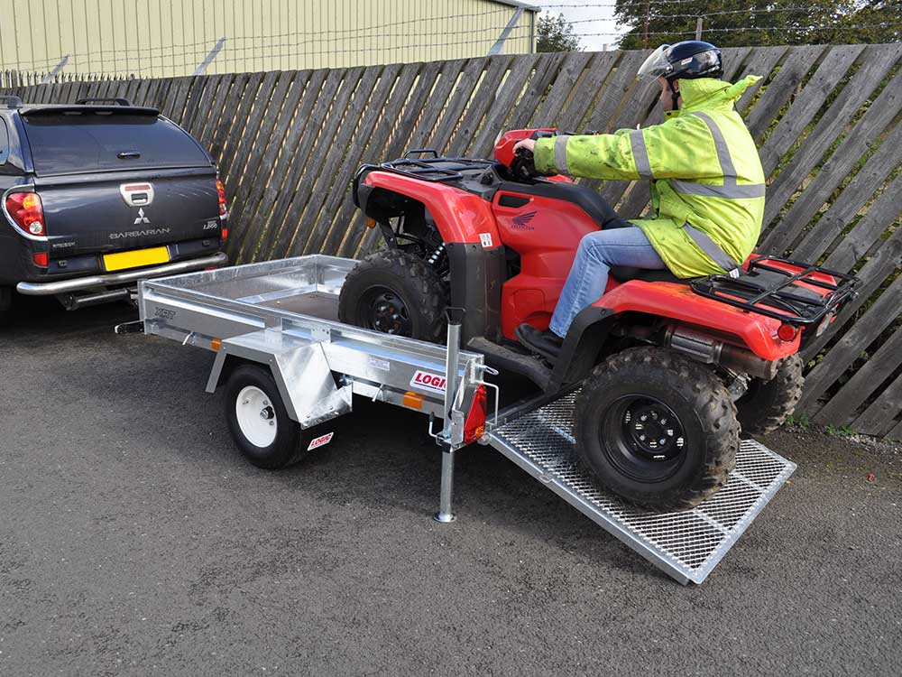 Road-legal ATV Trailer XRT detail 05