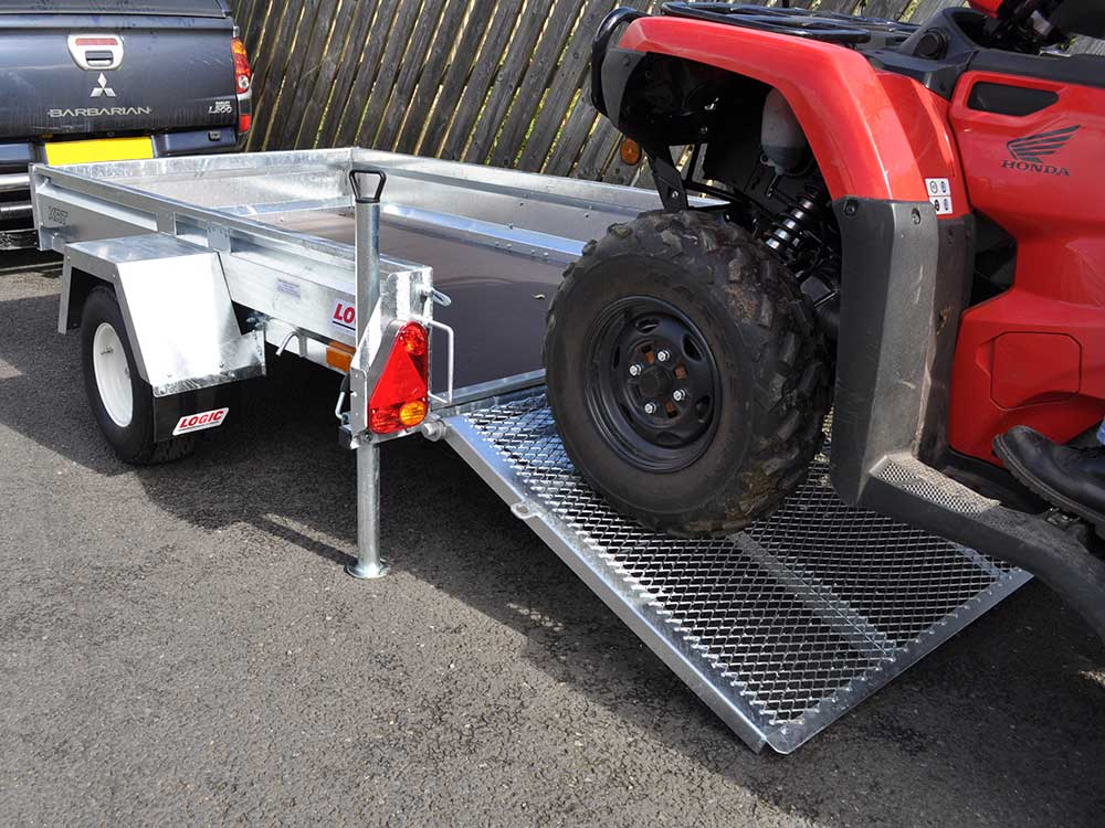Road-legal ATV Trailer XRT detail 06