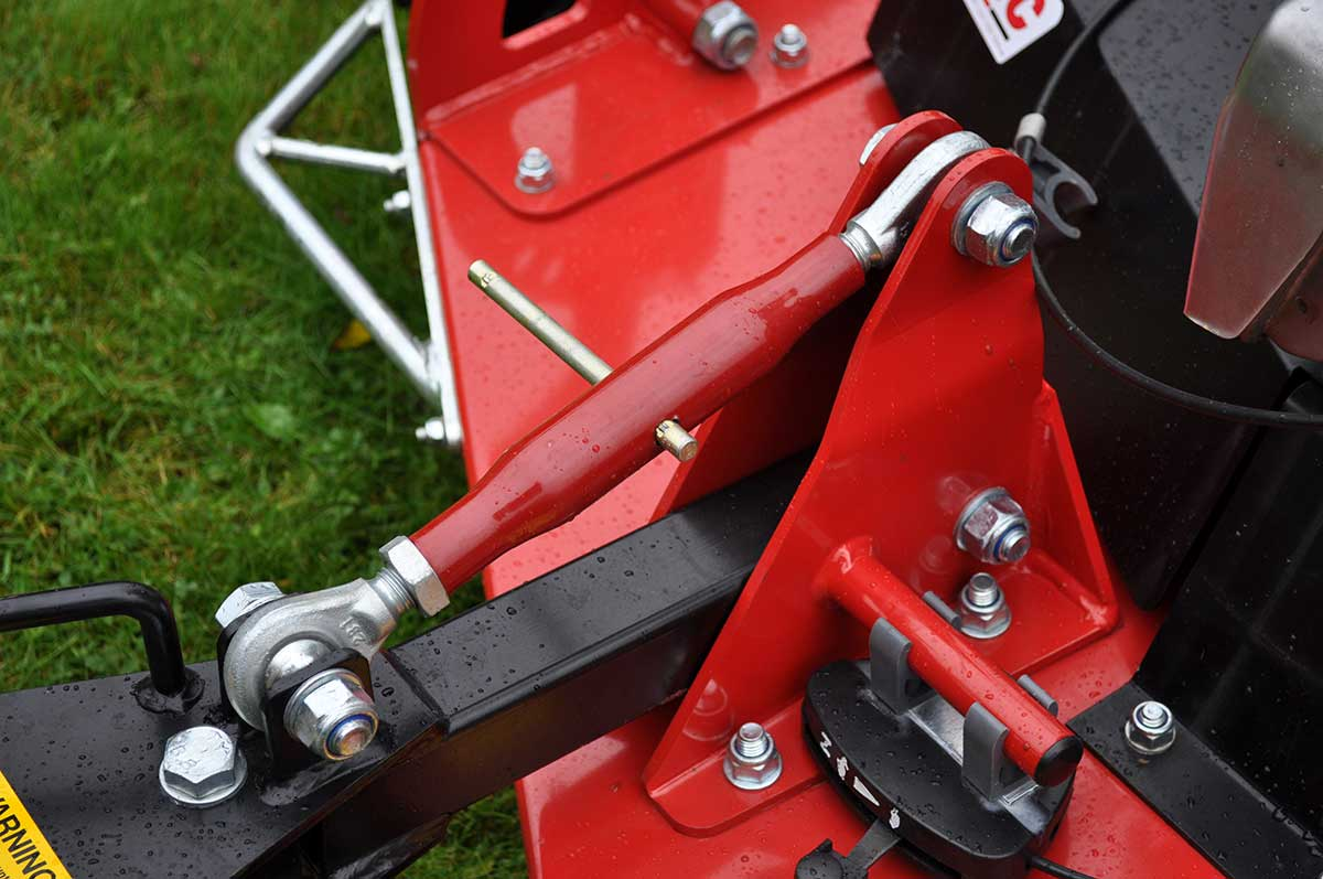 Logic Rotary Mower/Topper TRM detail close up 03