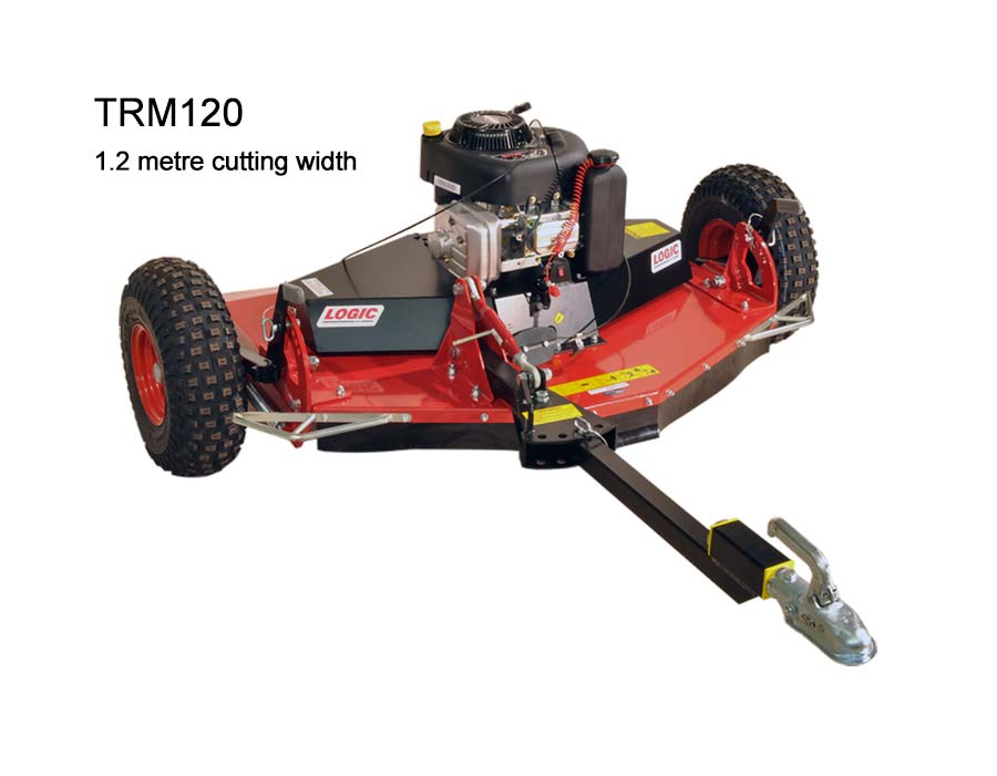Logic Rotary Mower/Topper TRM120 cut out
