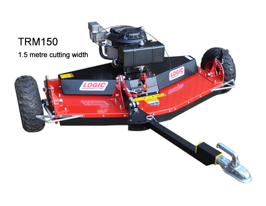 Logic Rotary Mower/Topper TRM150 cut out