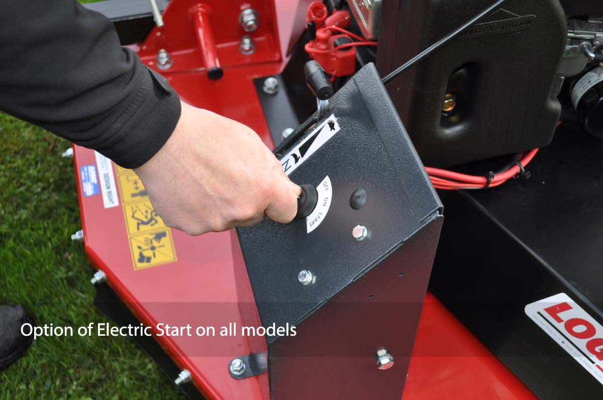 Logic Rotary Mower/Topper TRM detail close up 01