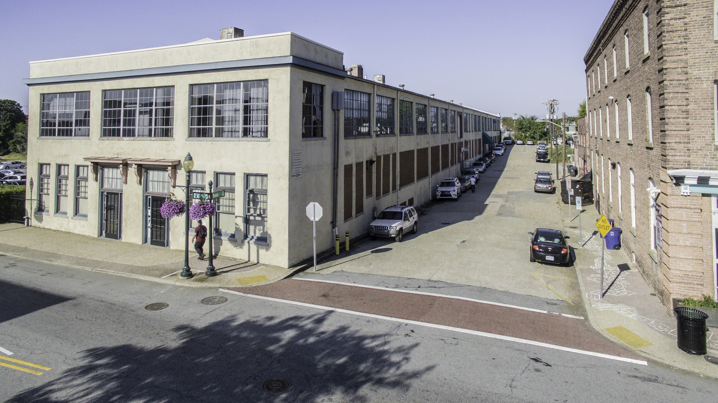 Street view of Transform GSO's new expansion space.
