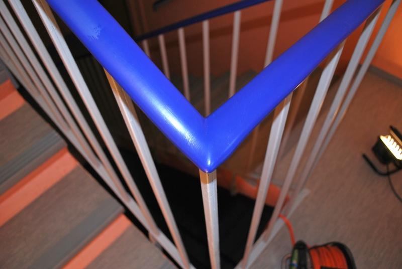 PVC madlo modré