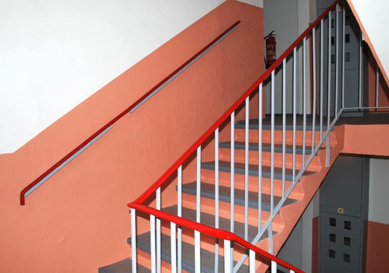 PVC madlo červené