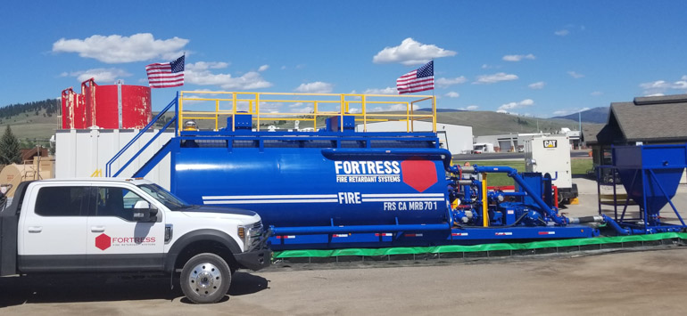 Fortress will be conducting a real-world test of their product this year in Montana. When fully approved, it will be the first newly formulated long-term retardant product to make it onto the Forest Service's Qualified Products List in over two decades. The retardant has successfully completed all US Forest Service laboratory tests for fire retardancy, toxicity, corrosion, and viscosity.