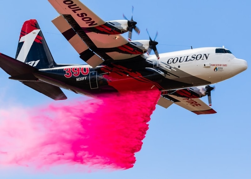 Innovative company delivers advanced formula long term fire retardant technology. Moving to final operational field evaluation at the U.S. Forest Service air tanker base in Missoula, MT. (pg. 54)