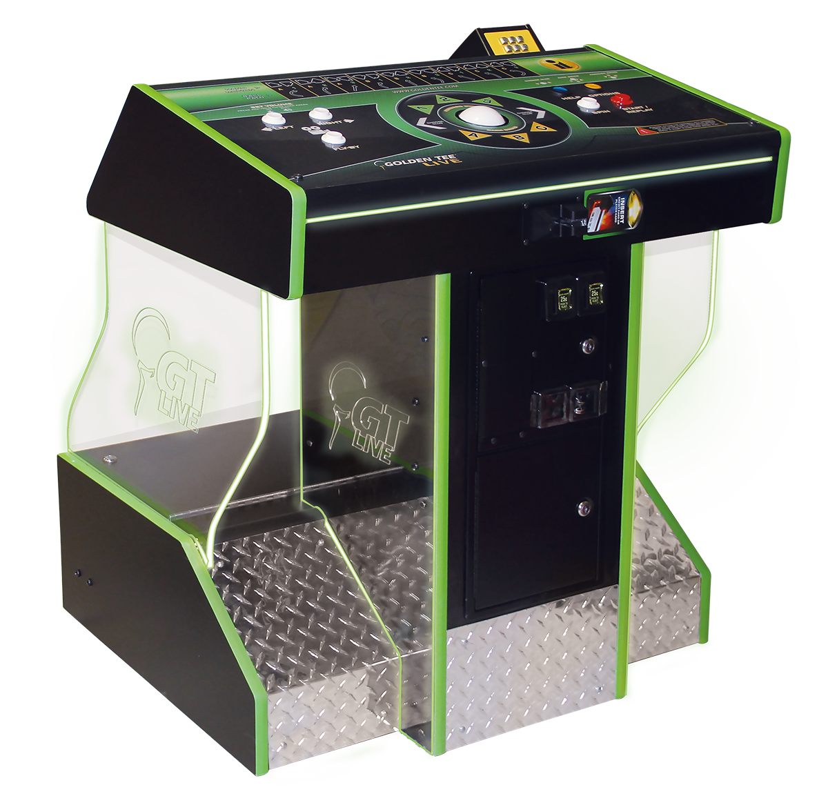 Funglo V4 Cabinet with Golden Tee