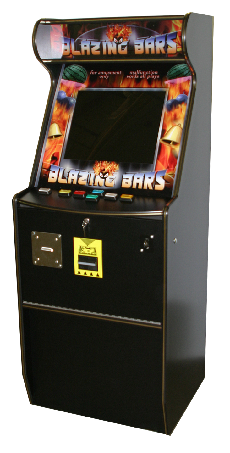 Slimline Marquee Cabinet with Game Artwork