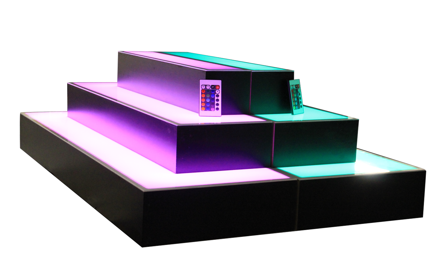 Bottle Brite LED Display Shelf