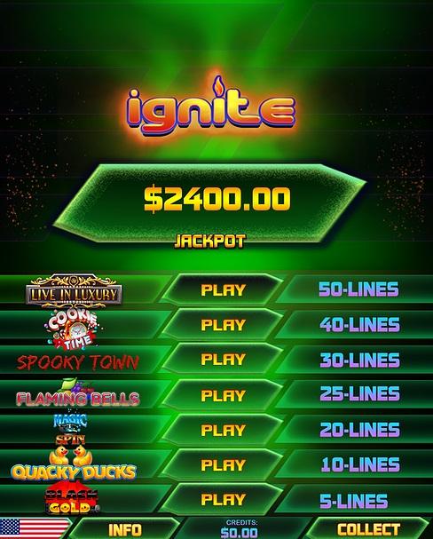 Ignite Green Multigame