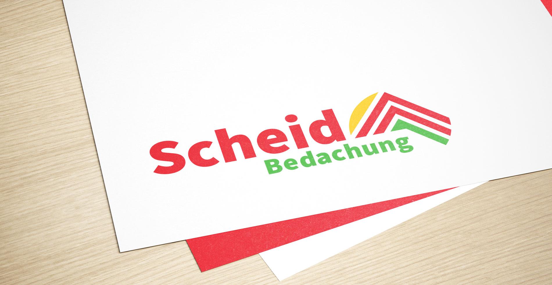 scheid bedachung logo