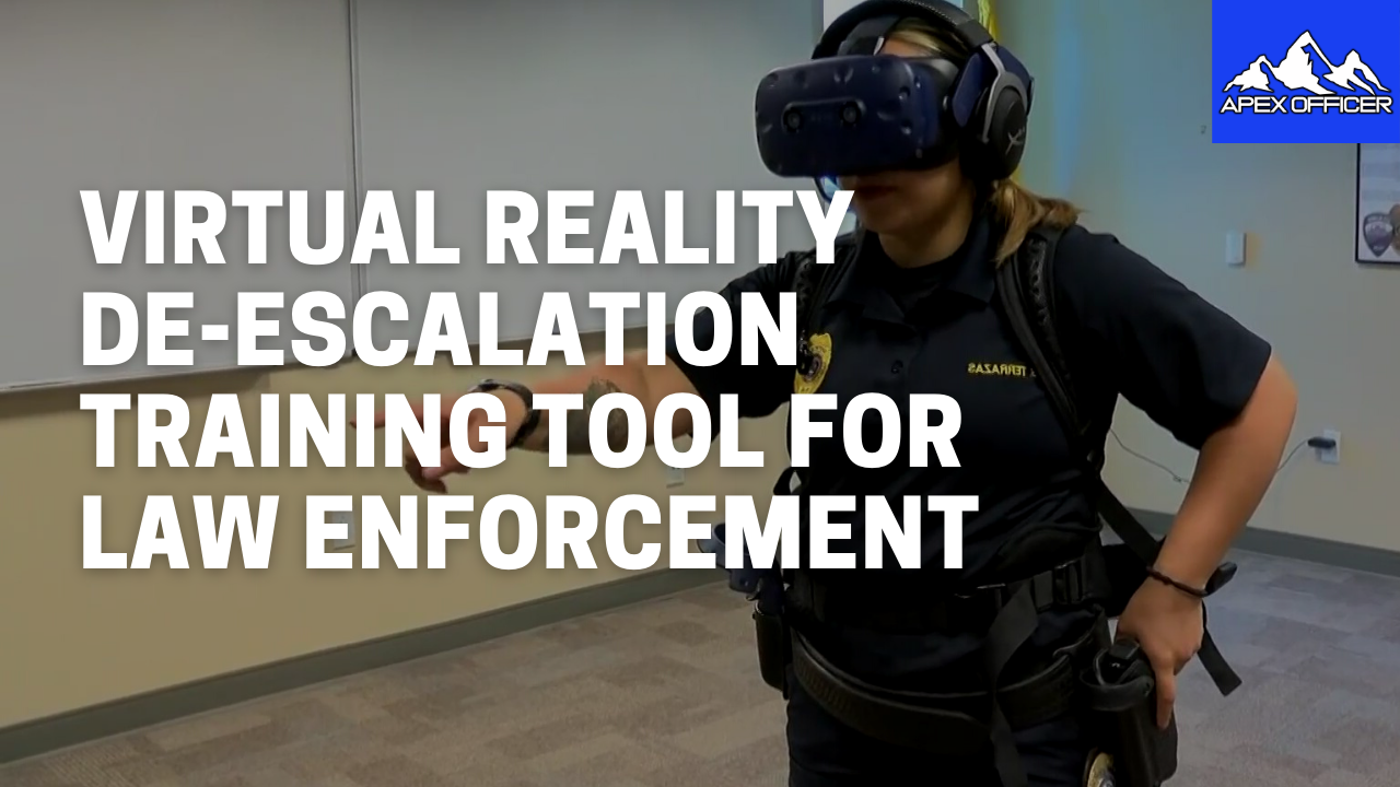 LAPDOfficer Training for De-Escalation in Virtual Reality