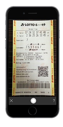 Lotto Scanner - Version 1.0 mit Texterkennung