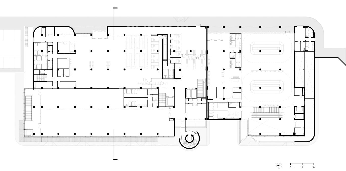 Plan - Ground Floor Level