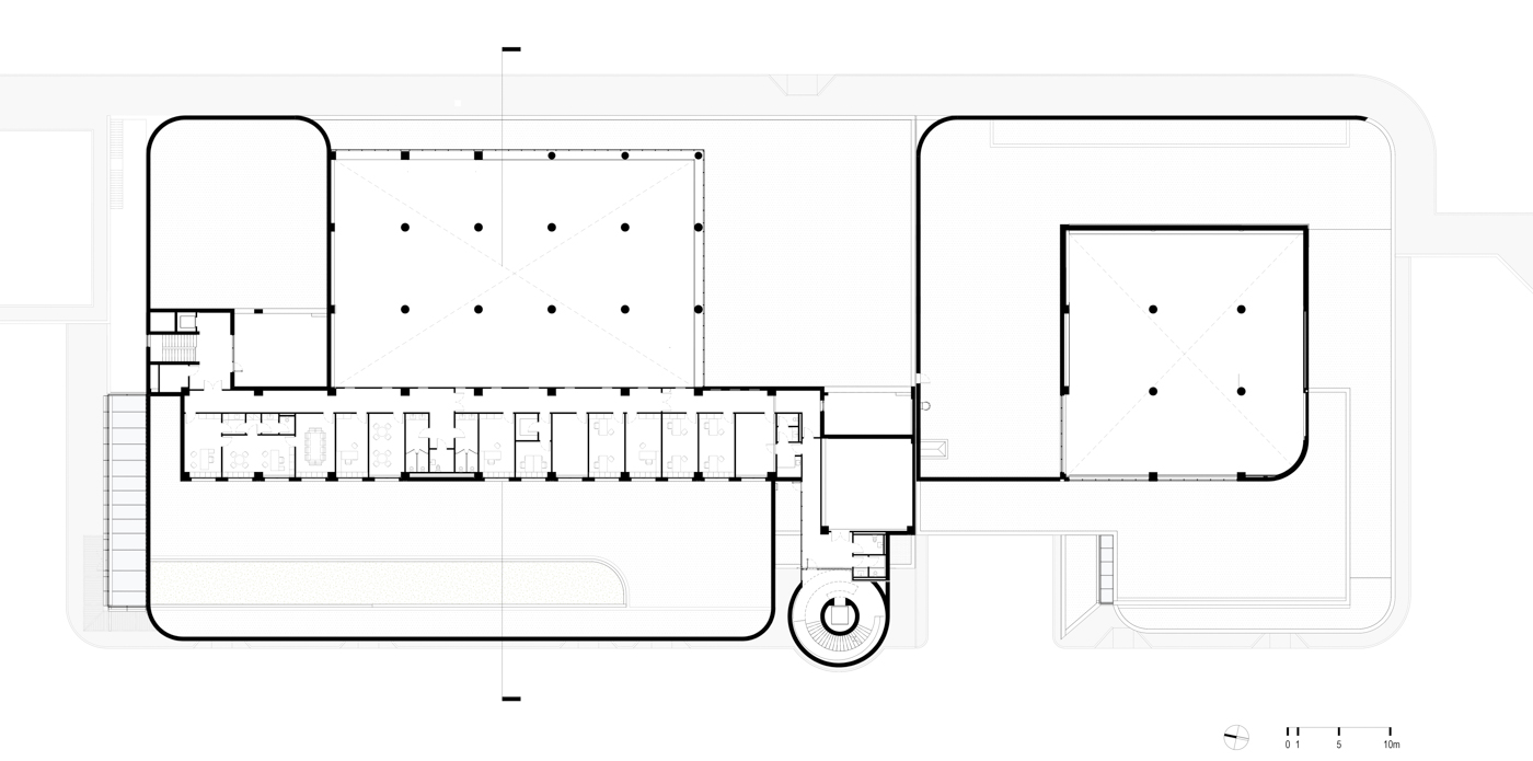 Plan - Offices Level
