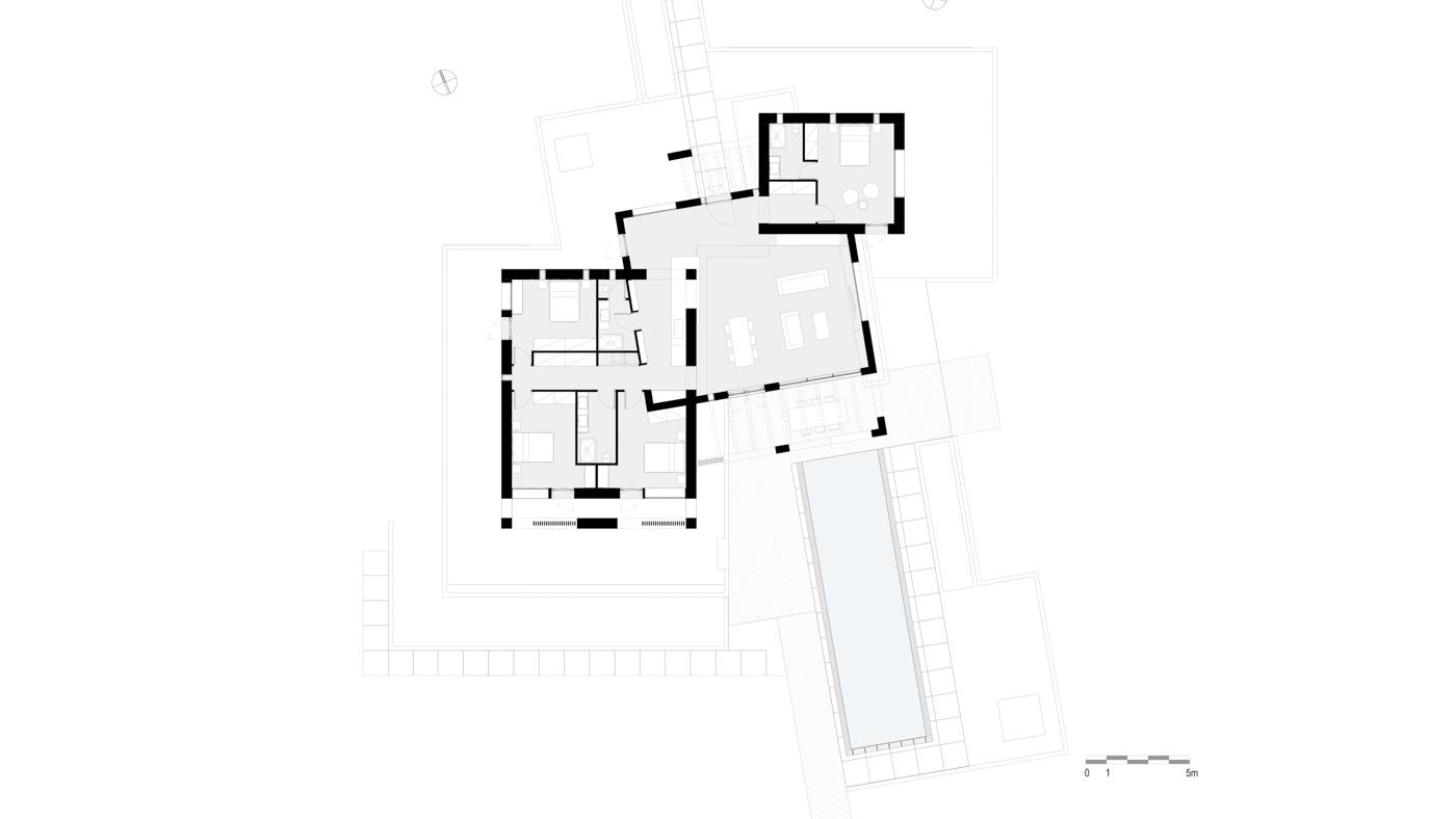Plan - 200m2 Villa
