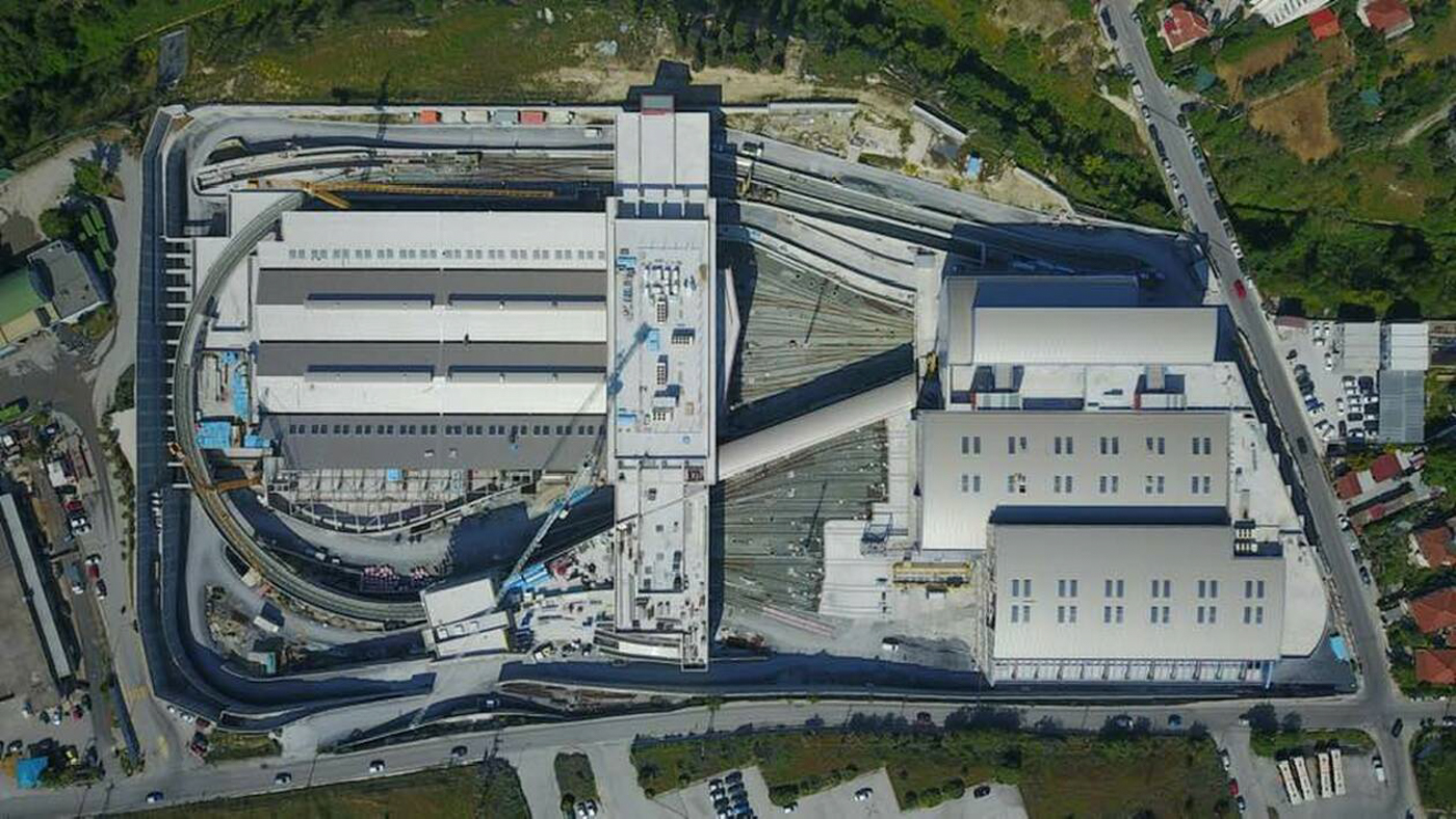 Thessaloniki Metro Depot Complex - BIM Architecture Greece