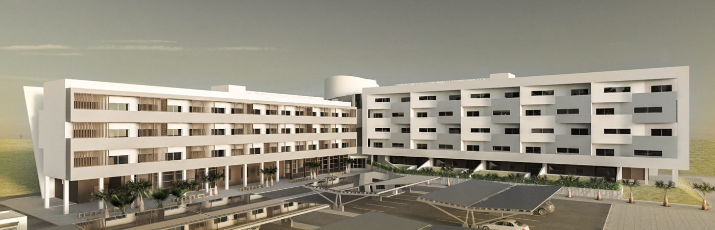 Serviced Apartments Prototype - BIM Architecture Greece