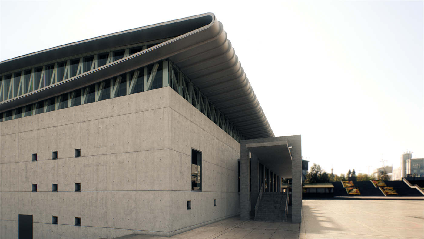 Olympic Equestrian Center - BIM Architecture Greece - EB/Architects