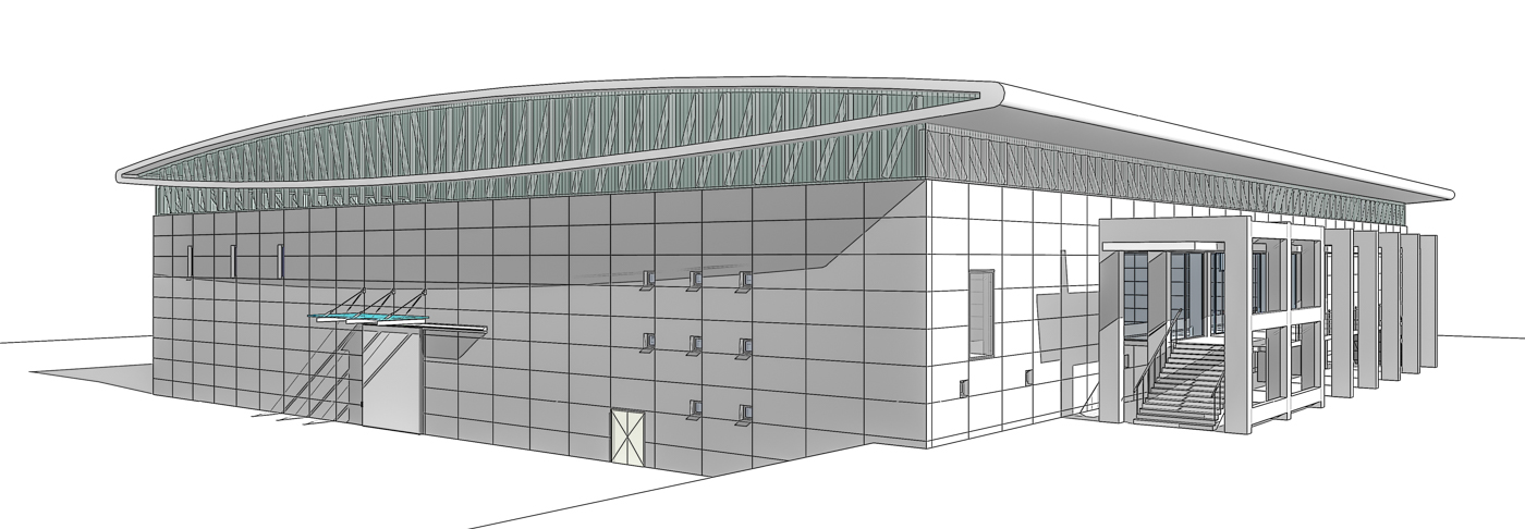 Perspective View - Closed Arena