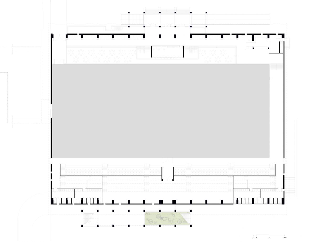 Floor Plan - Closed Arena