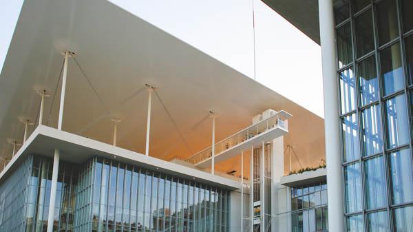 Design & Construction of the SNFCC Project - BIM Architecture Greece