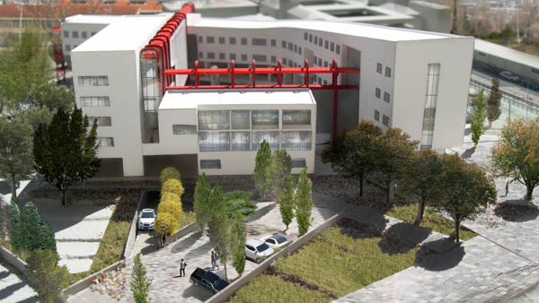 Competition Entry for an Educational & Administration Complex in the Medical School of Ioannina