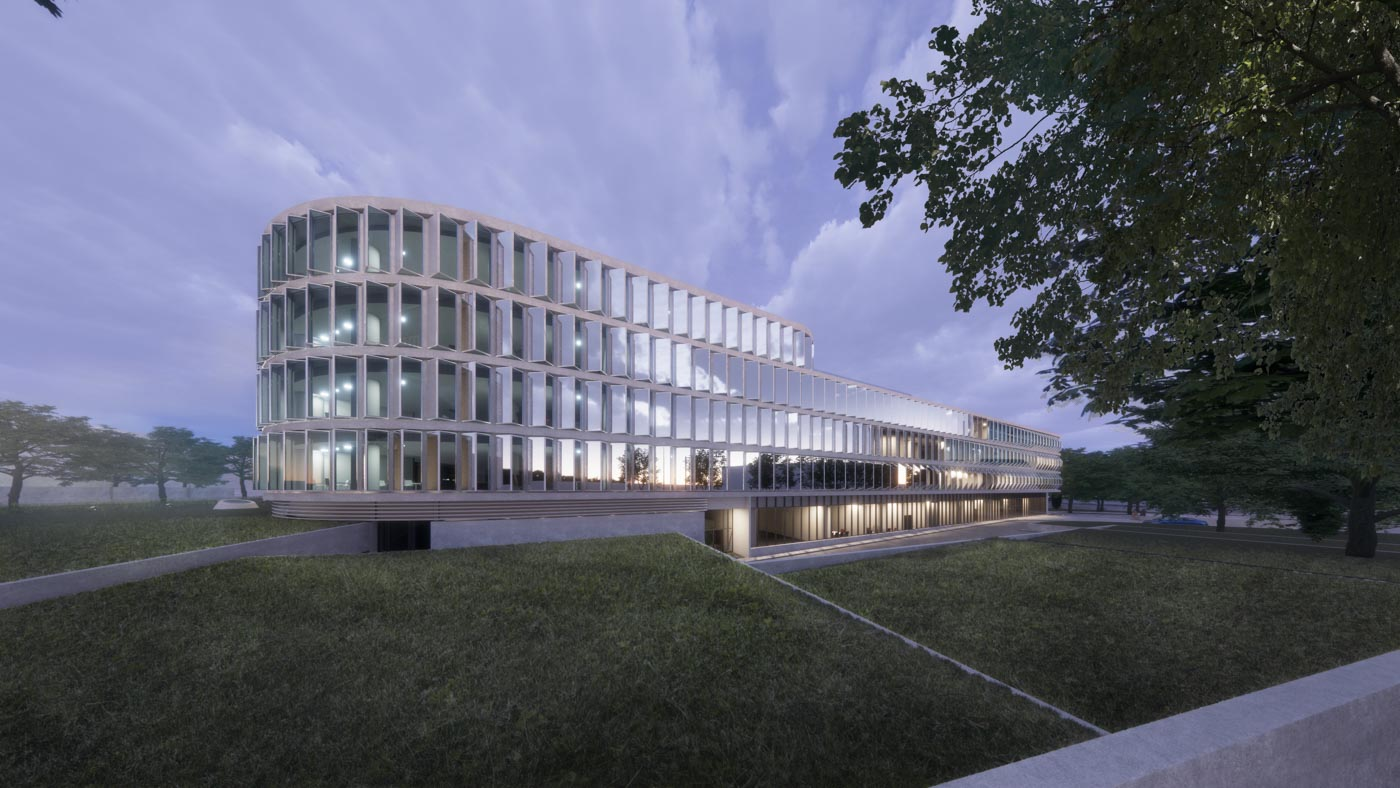 Competition Entry for the design of the new Public Power Corporation Headquarters