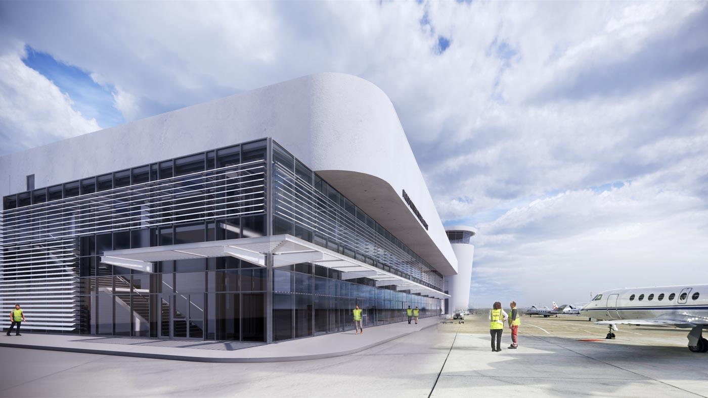 Paros Island Airport New Terminal