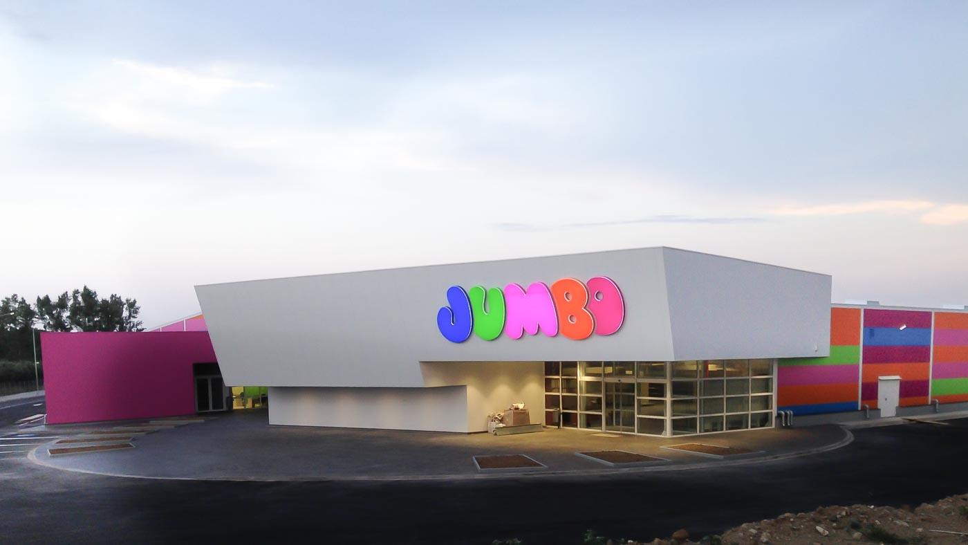 Jumbo Retail Complex in Iasmos