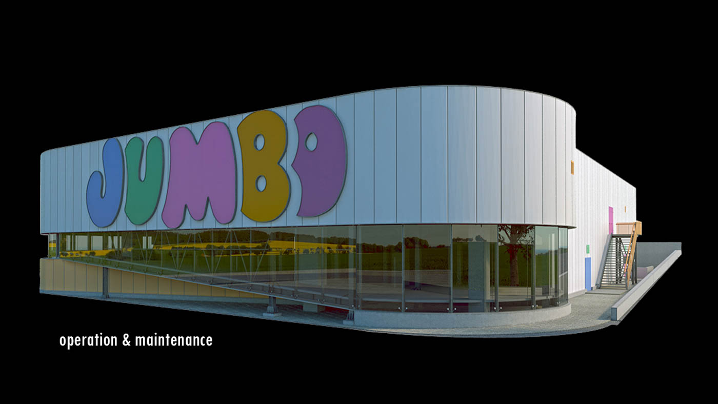 Design and Model development Phases for the Jumbo Retail Shop in Tripolis / 2013 / Arch. Design: EB/Architects