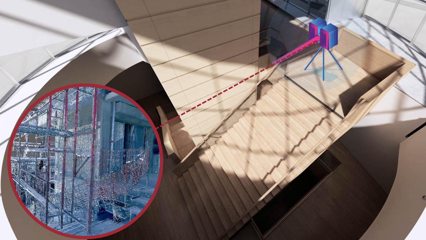 3D Laser Scanning - Scan to BIM