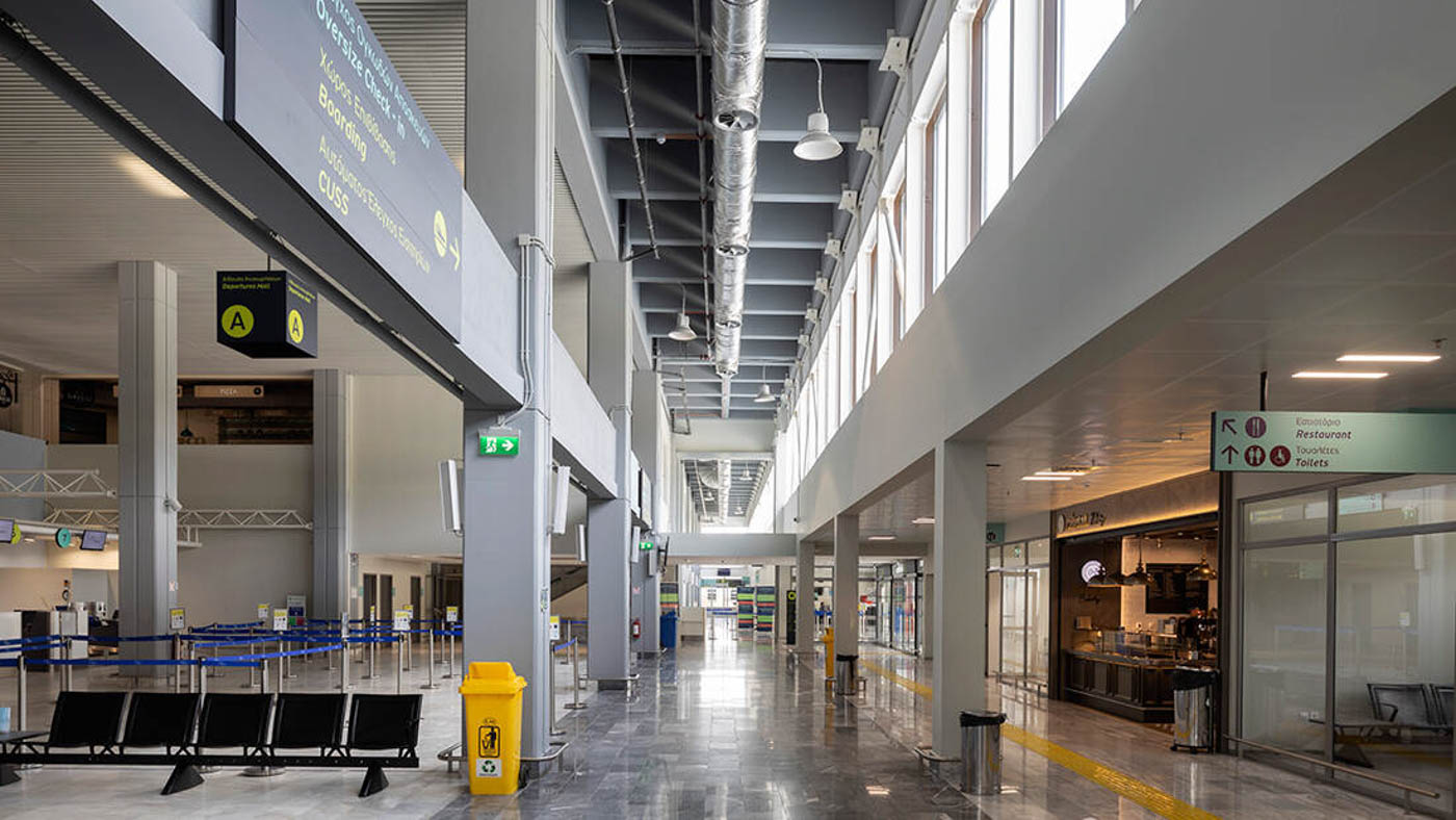 JSI Skiathos Airport Terminal - BIM Architecture Greece - EB/Architects