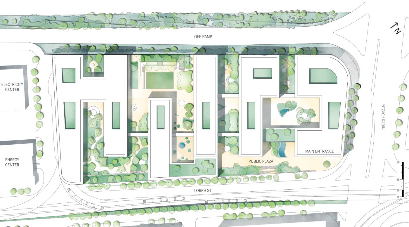 Arch. Design: Shlomo Aronson Architects
