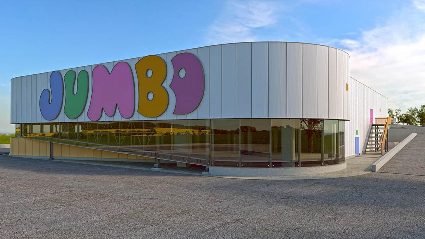 Jumbo SA Retail Complex in Tripolis