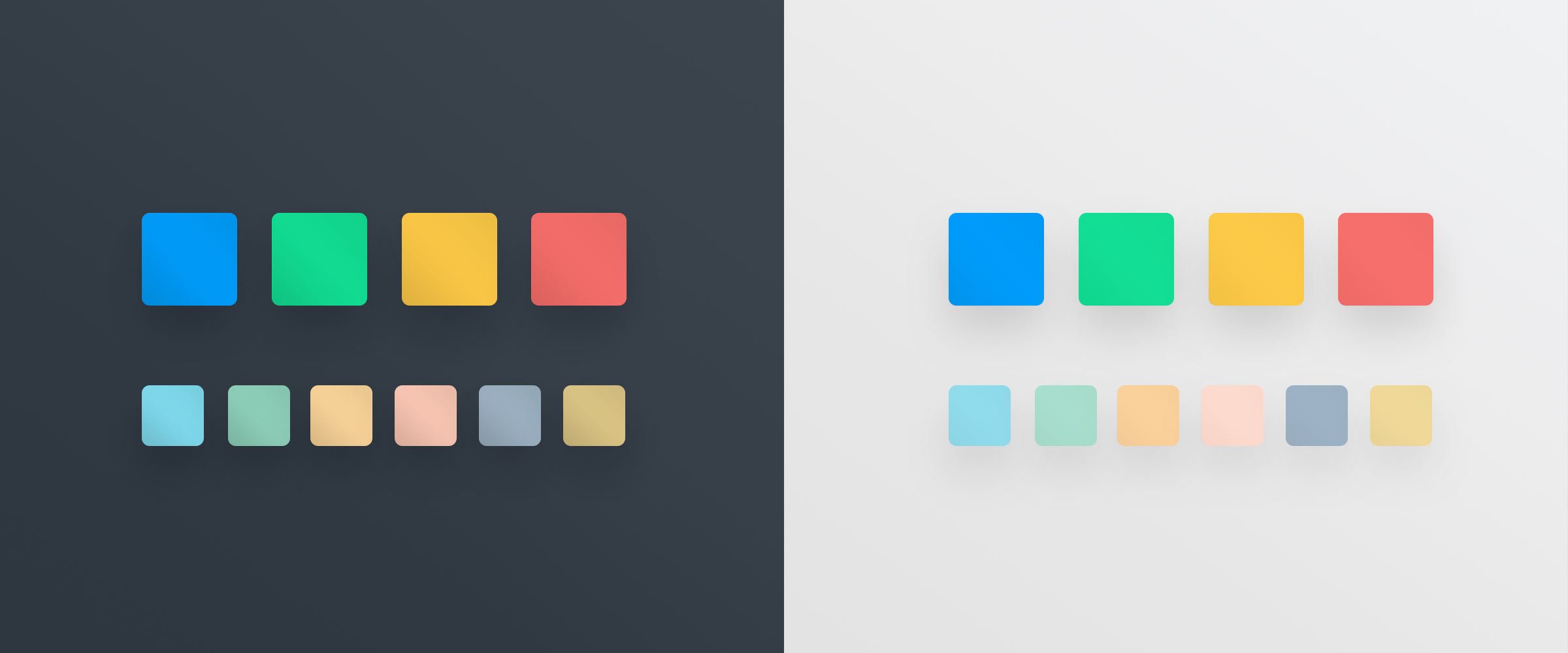 Geomensura couleurs