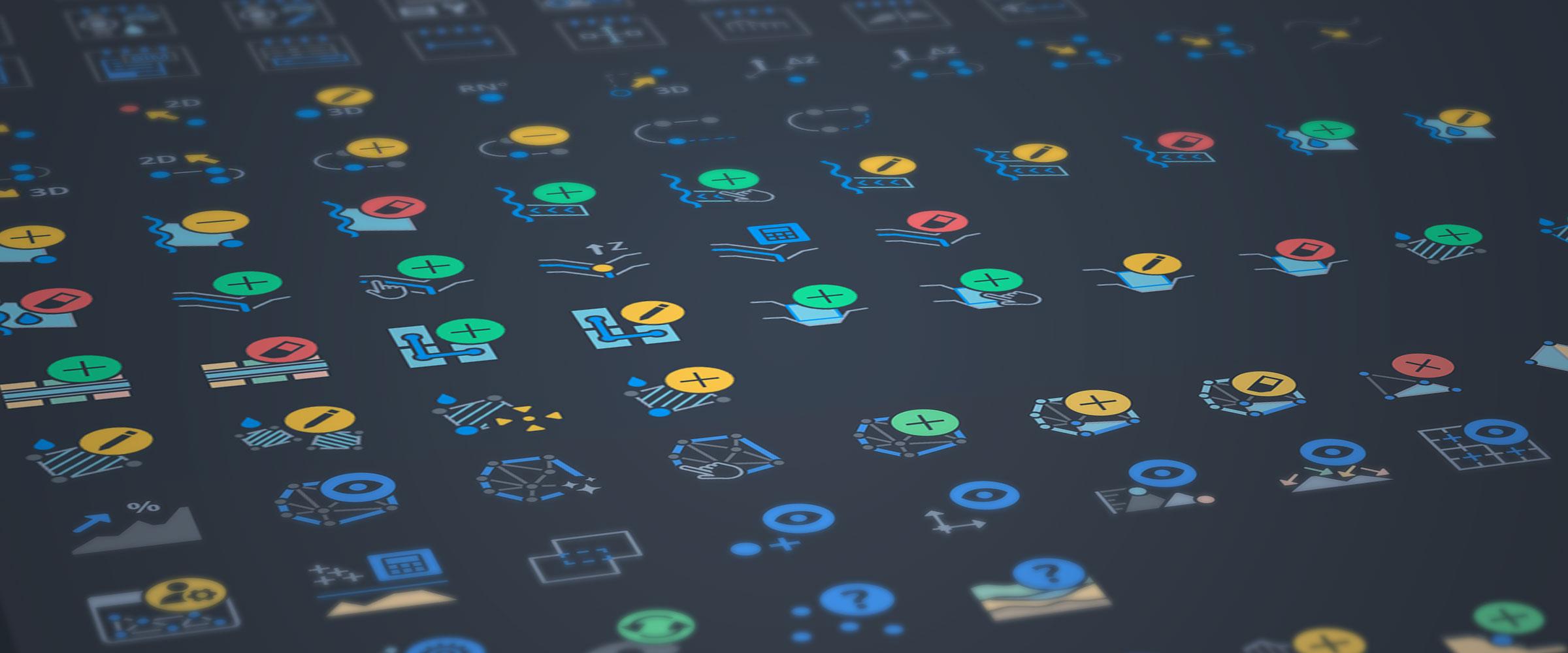 Geomensura icones ensemble