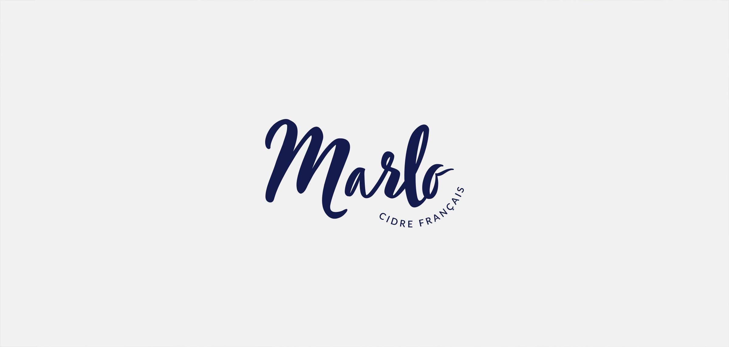 Marlo  identité visuelle logotype