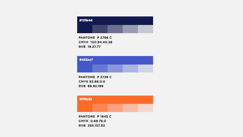 Marlo identité visuelle couleurs