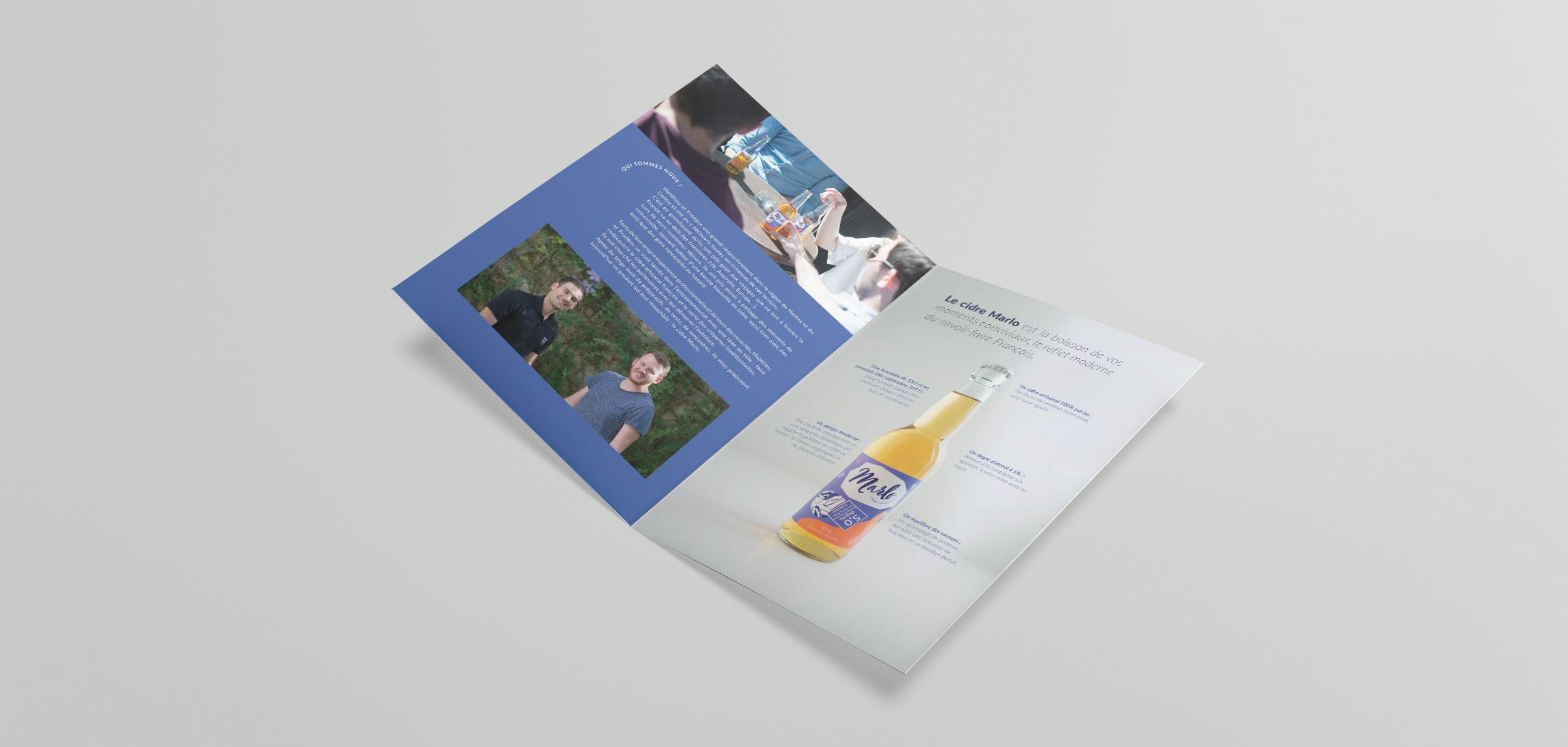 Marlo brochure intérieur