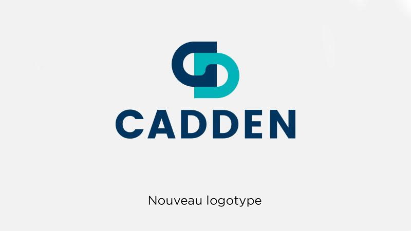 Cadden nouveau logotype