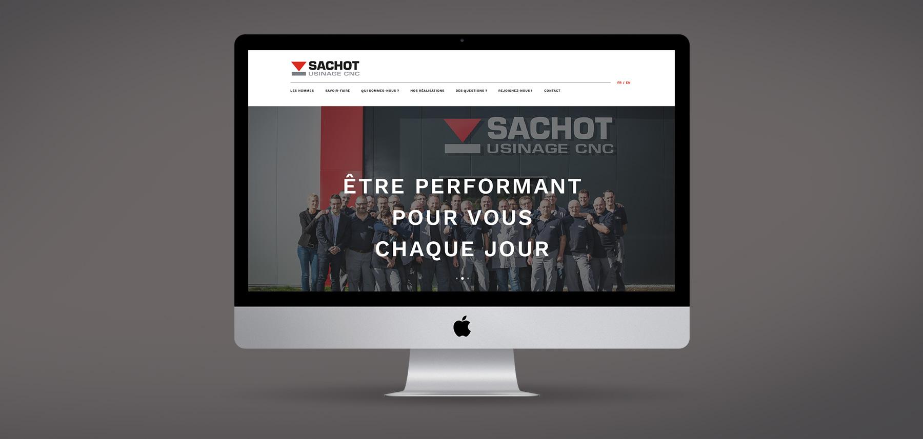 Sachot page accueil desktop