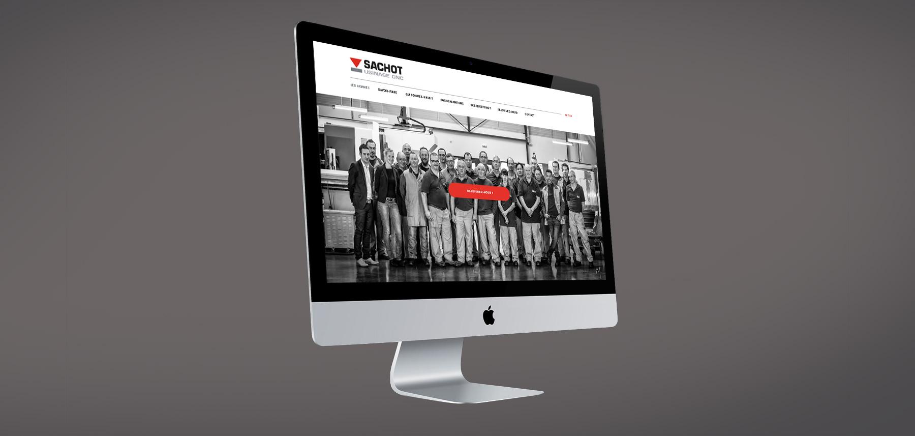 Sachot design page recrutement