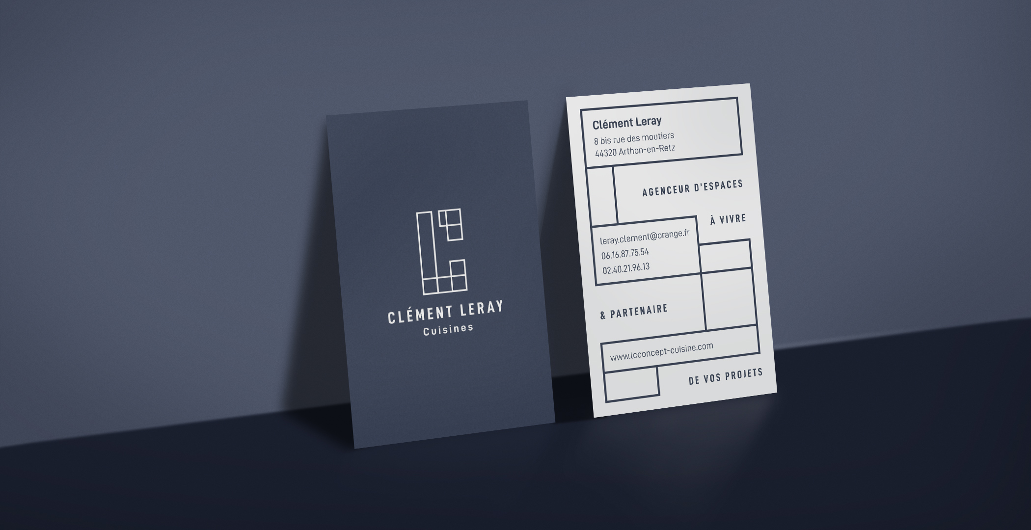 Clément Leray cartes de visite
