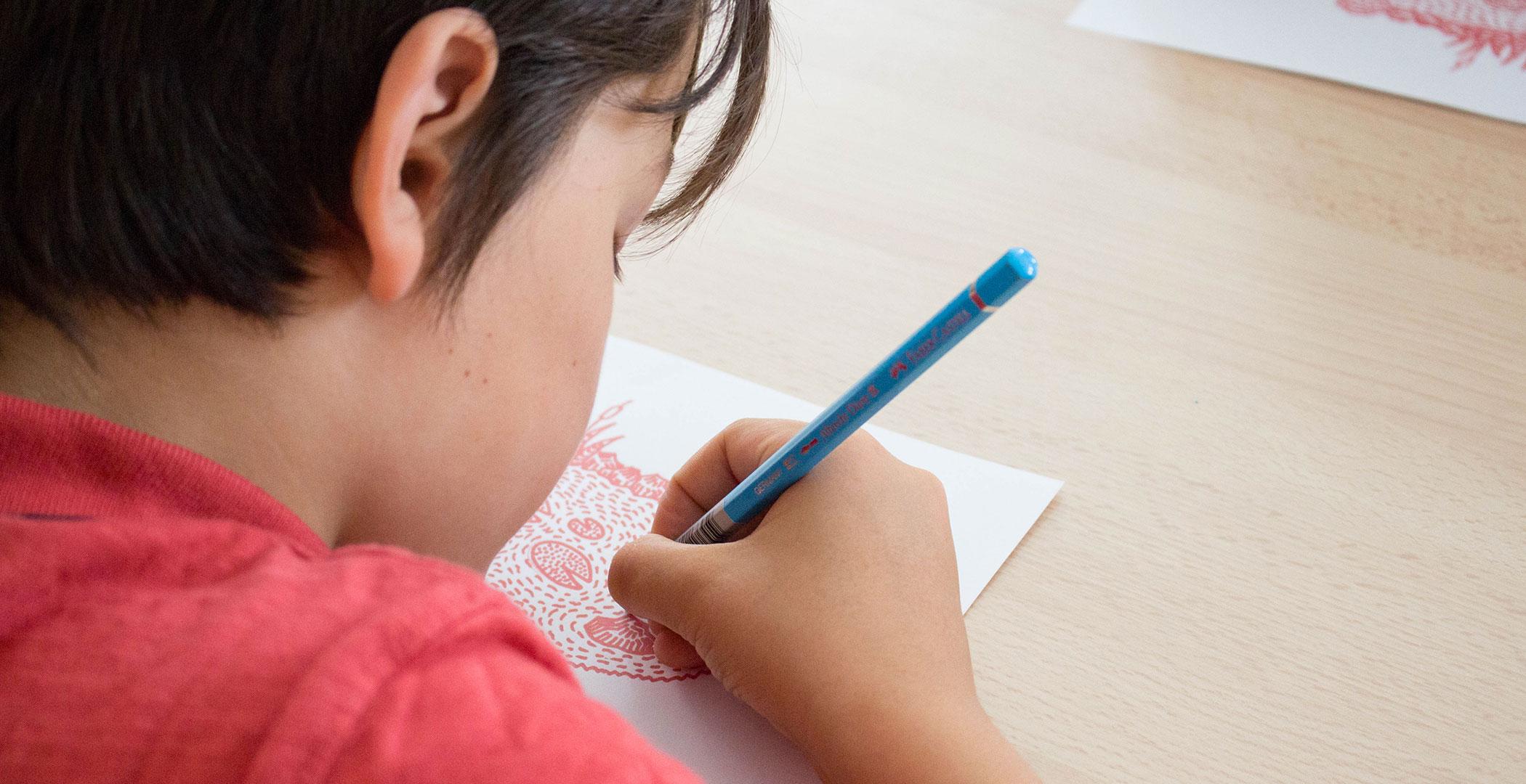 Ateliers enfant dessine